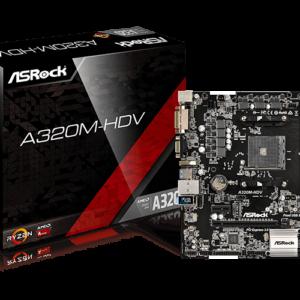 Mainboard AMD Asrock A320-HDV