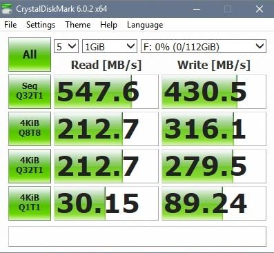 Test nhanh SSD Kingston A400 SA4000