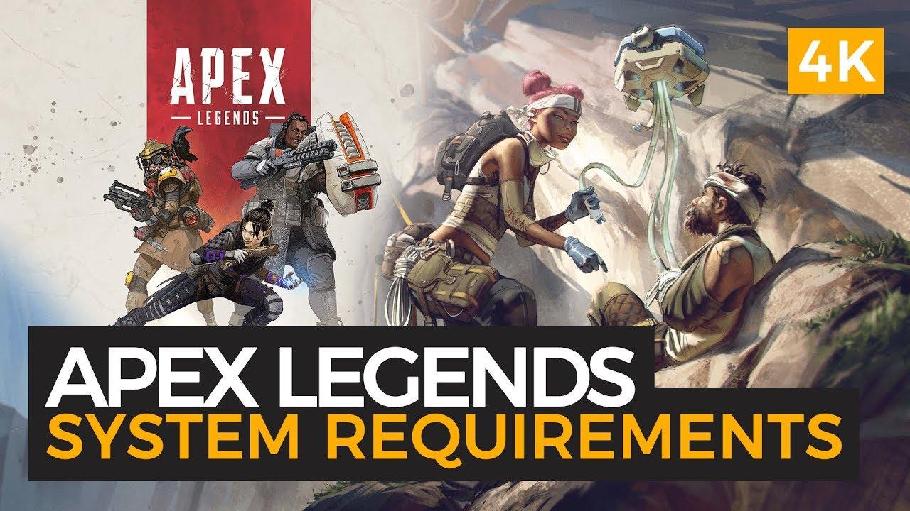 apex legends systems requremens