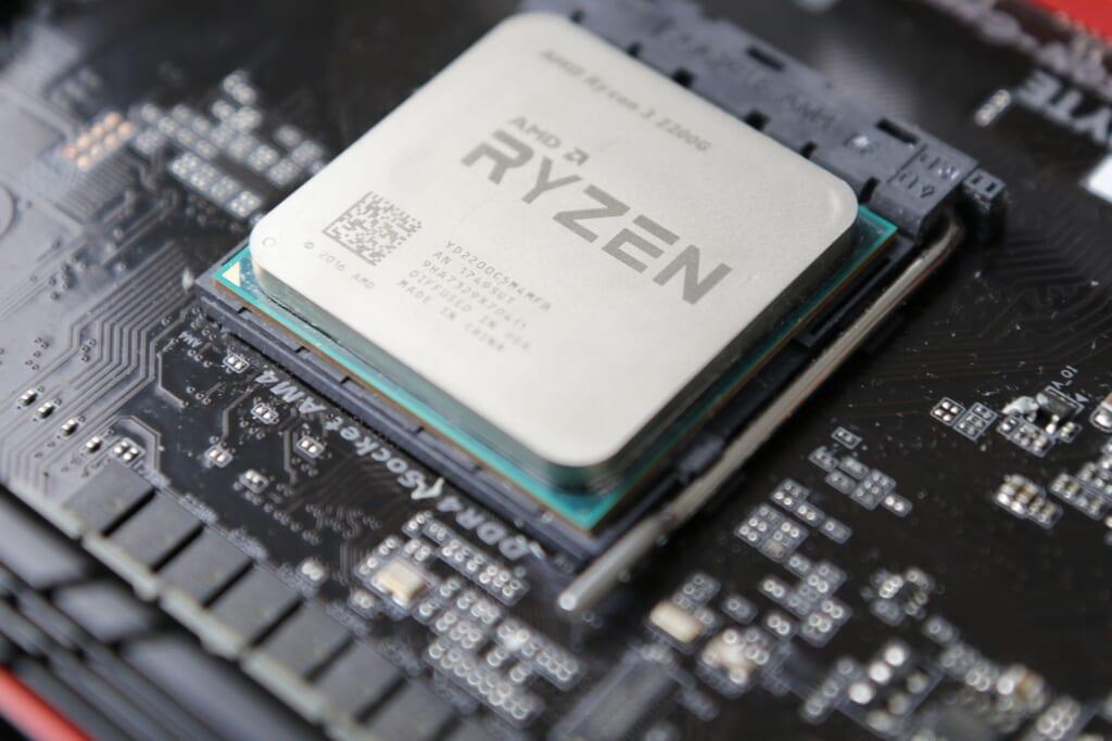 AMD Ryzen 3 2200G APU 4core 3.5GHz (3.7GHz bost) kèm Radeon Vega 8