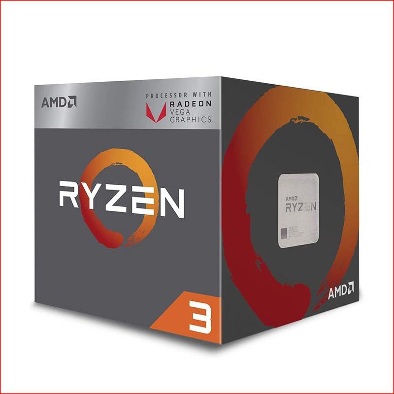 AMD Ryzen 3 2200G - Radeon Vega 8