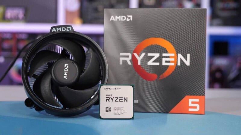 AMD Ryzen 5 3600 UnBoxing Tin học Đại Việt