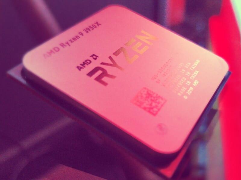CPU AMD Ryzen™ 9 3950X 16 Core 32 Thread 1