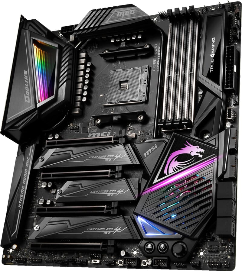 Mainboard AMD MSI MEG x570 godlike Tin học Đại Việt