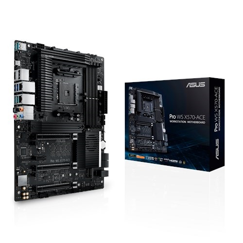 Mainboard ASUS Pro WS X570-ACE for Workstation, ECC RAM Socket AM4 Tin học Đại Việt