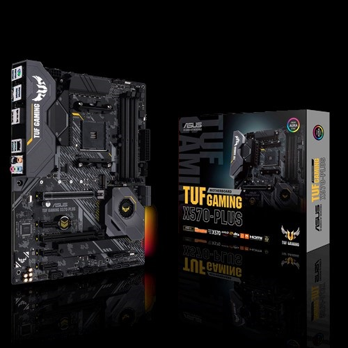 Mainboard ASUS TUF GAMING X570-PLUS AM4 for Ryzen Tin học Đại Việt