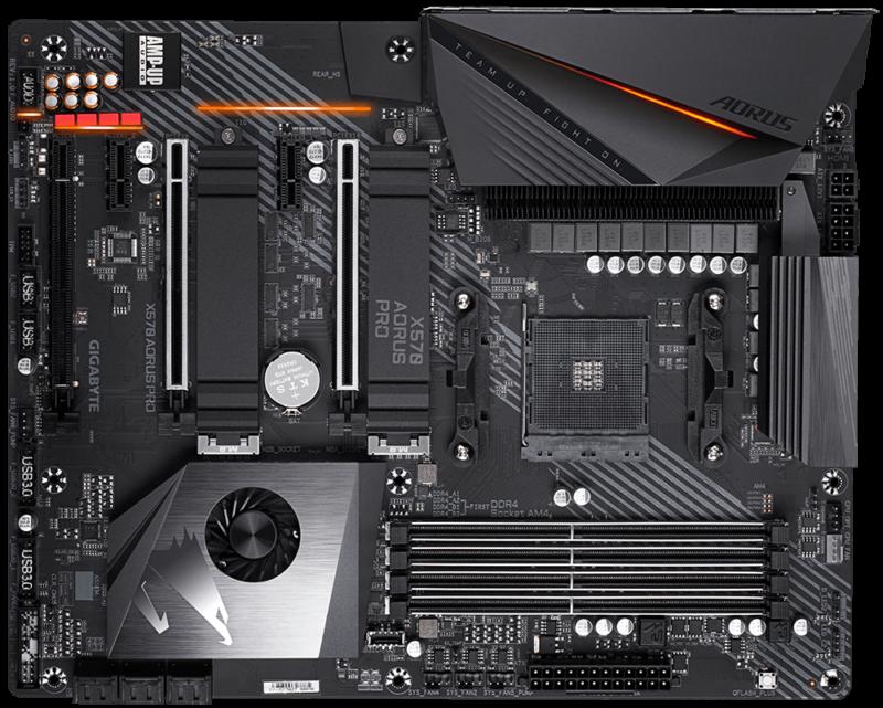 Mainboard Gigabyte X570 AORUS Pro AM4 For Ryzen Tin học Đại Việt 2