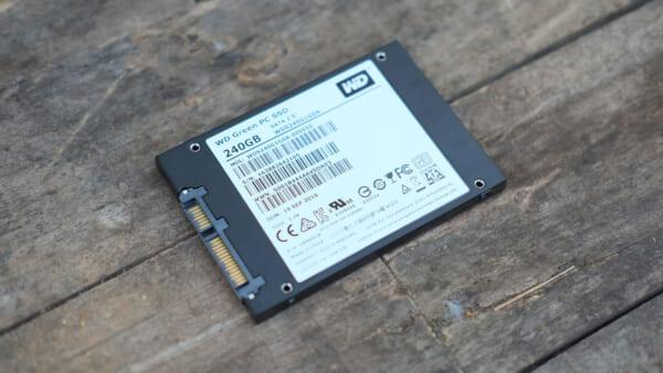 SSD Western Digital 240 GB Green Tin hoc Dai Viet