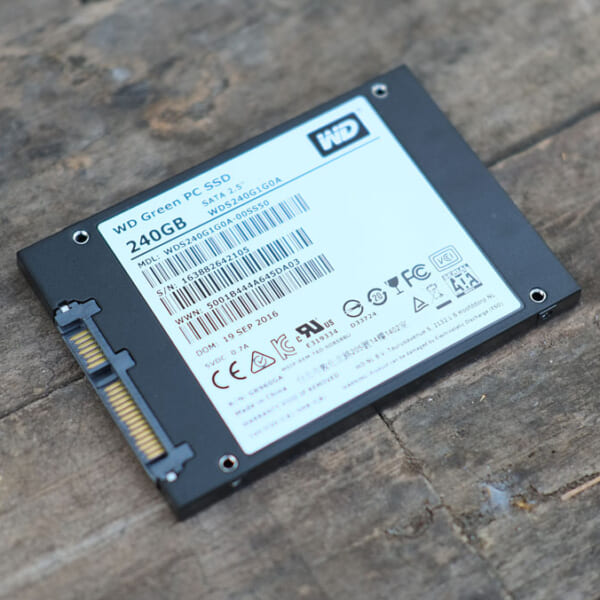 SSD Western Digital 240 GB Green Tin hoc Dai Viet