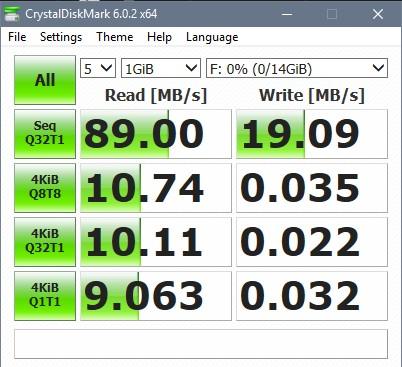 USB 16G Kingston DataTraveler DT100G3 USB 3.0 Crystal Disk test Tin học Đại Việt