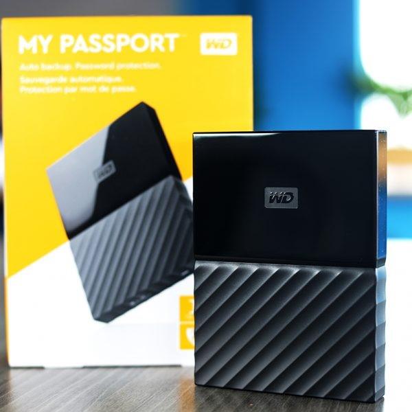 Ổ cứng di động 1TB 2TB 3TB 4TB Western Digital My Passport Tin học Đại Việt 3