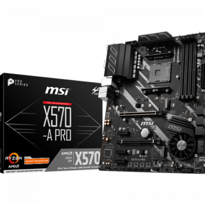 Mainboard MSI X570-A Pro Socket AM4 AMD-PCIe 4.0 Tin hoc Dai Viet