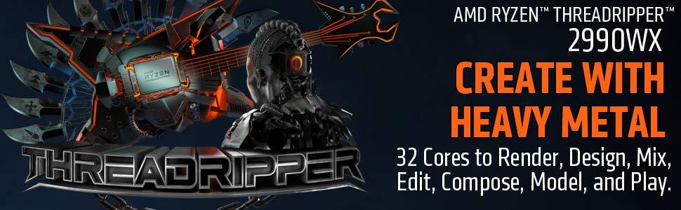 ADM Ryzen ThreadRipper 2990WX tính năng Tin học Đại Việt