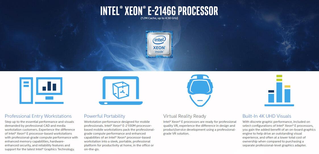 Intel xeon e-2146g Tin học Đại Việt