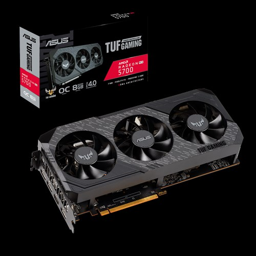 VGA AMD ASUS TUF Gaming X3 Radeon™ RX 5700 OC edition 8GB GDDR6 Tin hoc Dai Viet