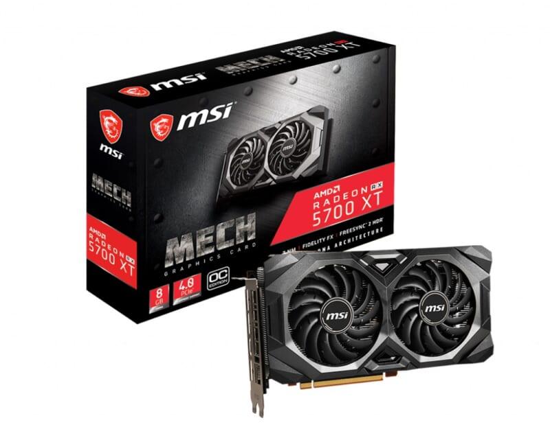 VGA AMD MSI Radeon RX 5700 XT MECH OC 8GB GDDR6 Tin hoc Dai Viet