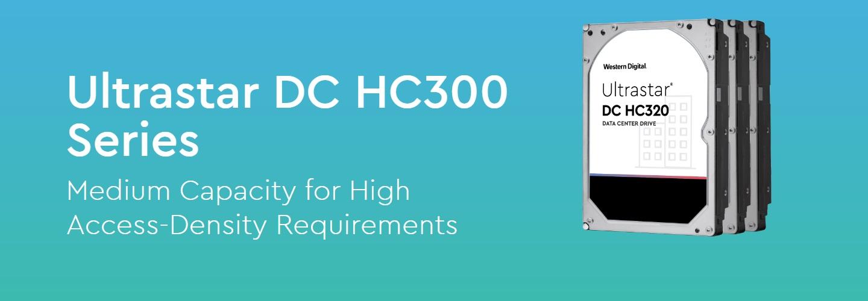 Western Digital Ultrastar HC300 Series