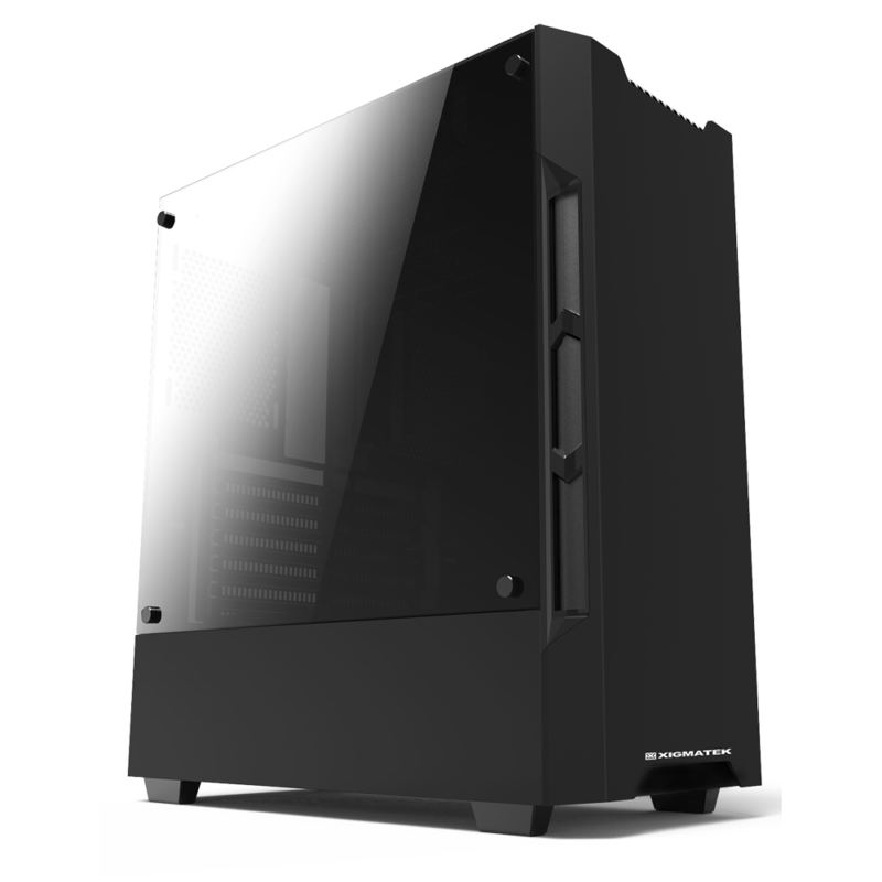 Case Vỏ máy tính Xigmatek Nmesis Black 1