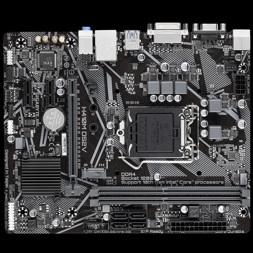 Main Gigabyte H410M DS2V LGA 1200 4