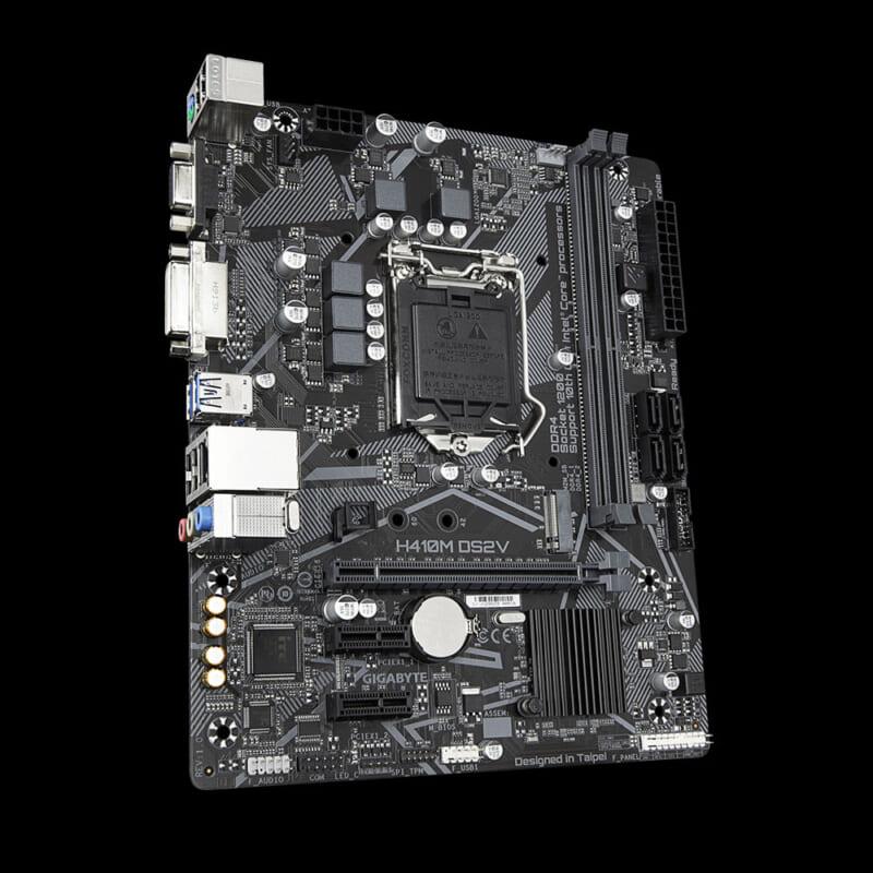 Main Gigabyte H410M DS2V LGA 1200 Main Gigabyte H410M DS2V LGA 1200 3