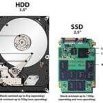 Cấu tạo HDD và SSD