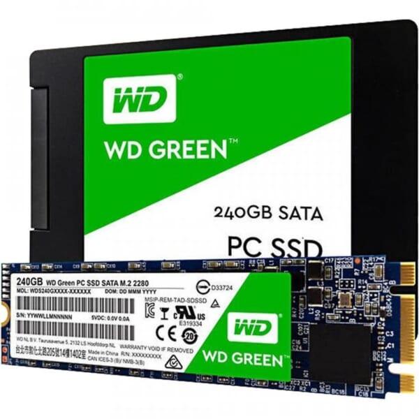 Ổ cứng SSD Western Digital Green M2 120GB - BH 3 năm tin hoc dai viet_1