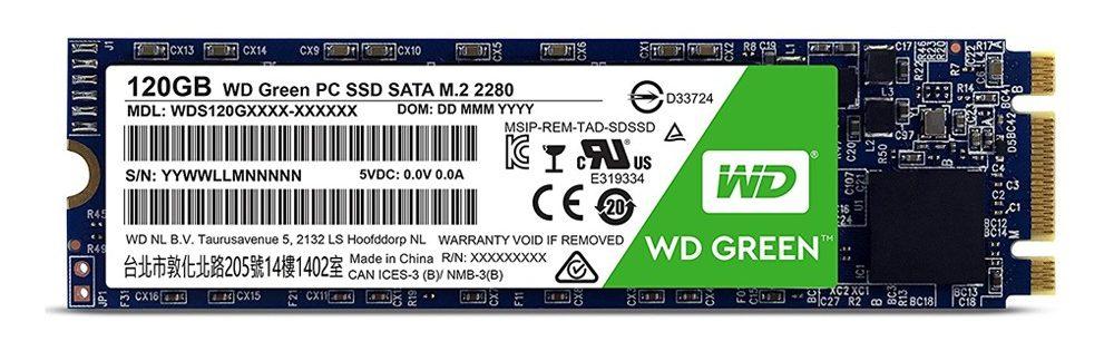 Ổ cứng SSD Western Digital Green M2 120GB tin hoc dai viet 1