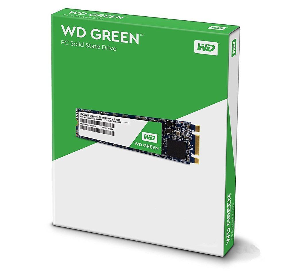 Ổ cứng SSD Western Digital Green M2 120GB tin hoc dai viet