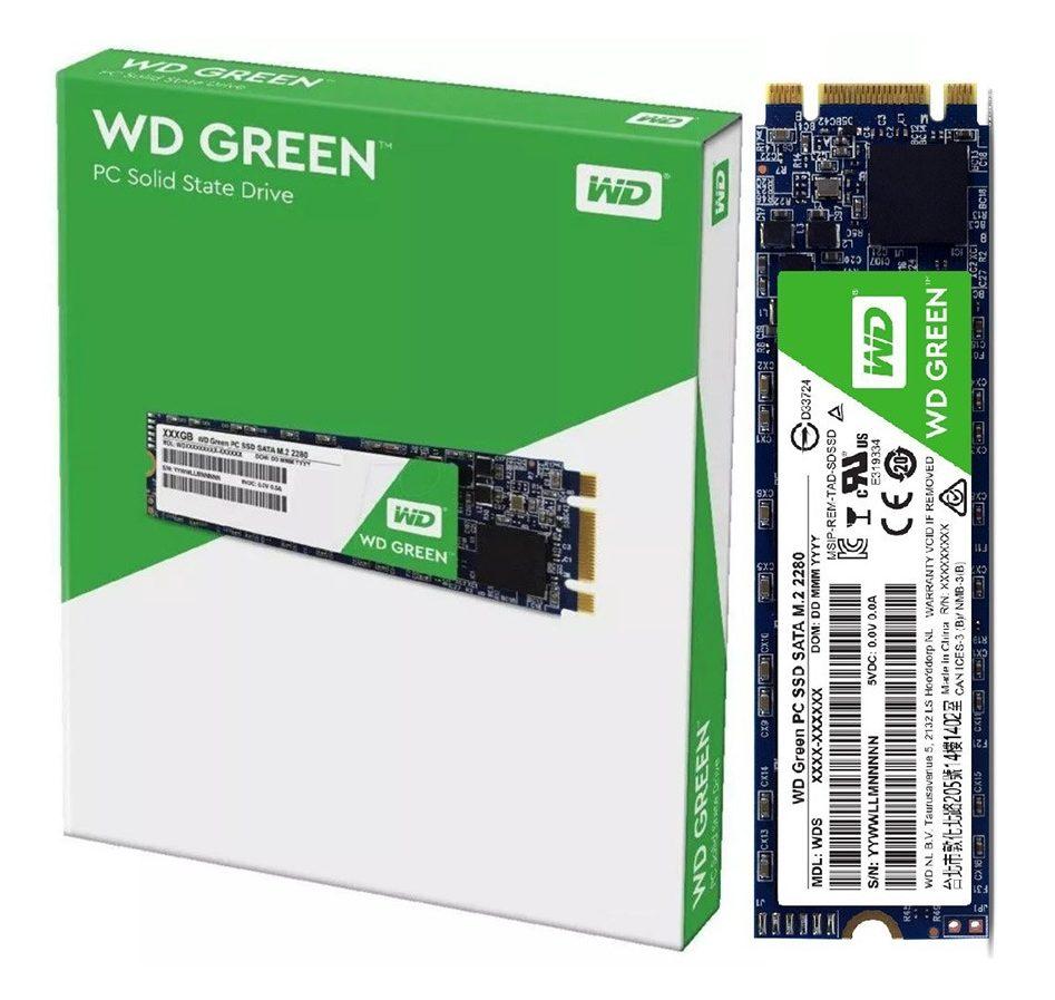 Ổ cứng SSD Western Digital Green M2 240GB tin hoc dai viet