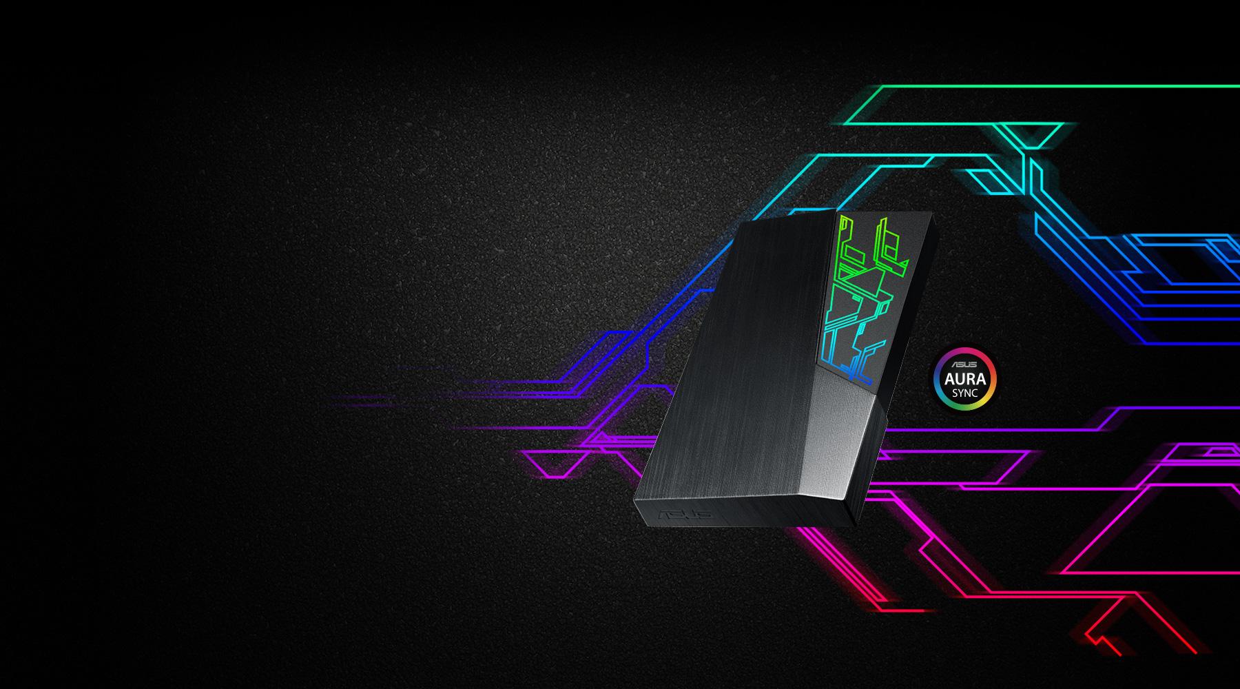 Ổ cứng di động HDD Asus FX Aura Sync RGB tin hoc dai viet