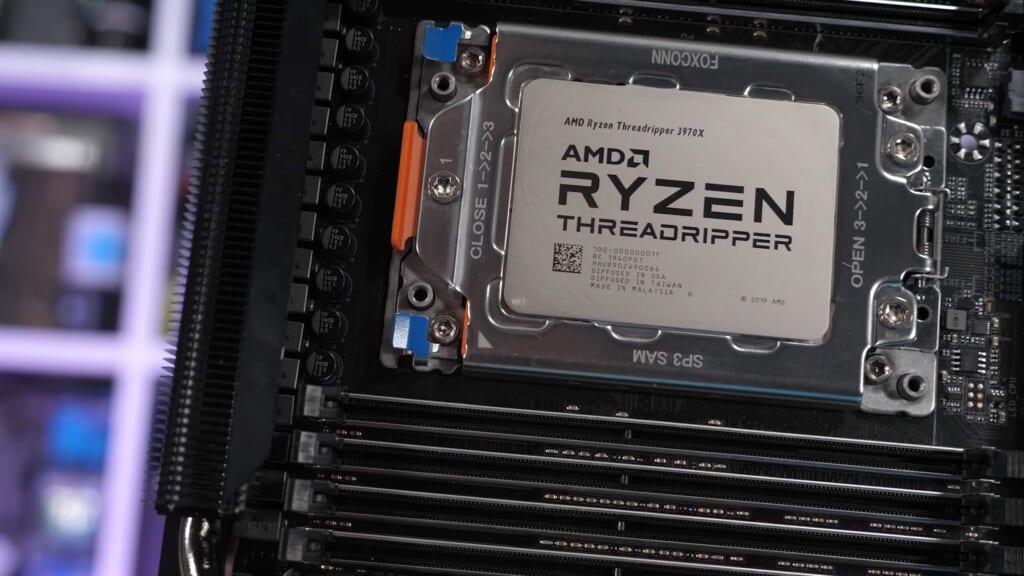 AMD Ryzen Threadripper 3970X - Tin học Đại Việt