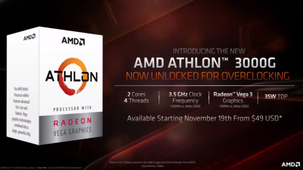 Giới thiệu Athlon-3000G