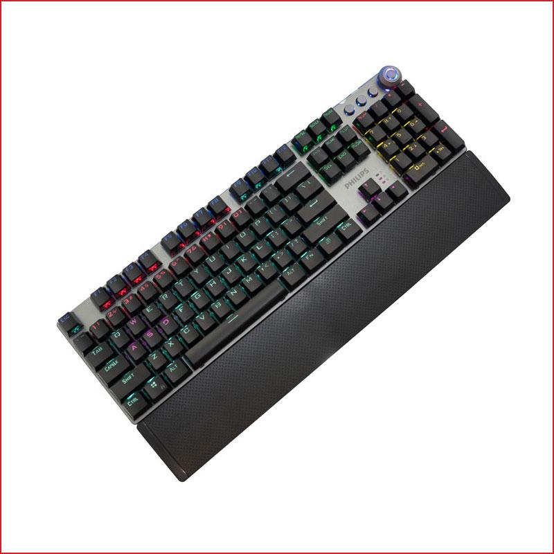 Bàn Phím Cơ Mechanical Keyboard Philips SPK8614 RGB