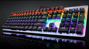 Bàn phím Cơ HP GK100S RGB Led dành cho Game thủ Tin học Đại Việt