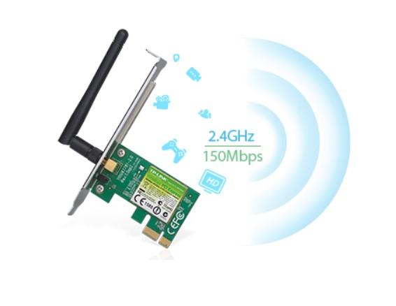 Card Wifi TPlink TL WN781ND chuẩn N tin học đại việt
