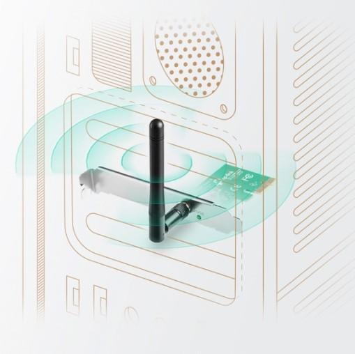 Card Wifi TPlink TL WN781ND chuẩn N tin hoc dai viet 2