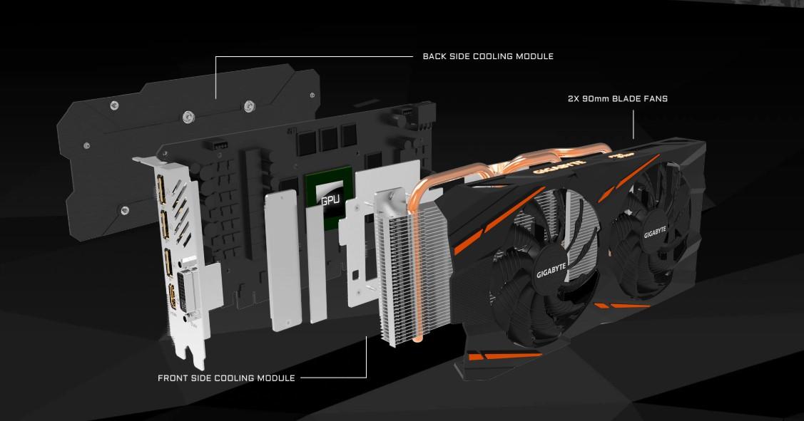 Card màn hình VGA Gigabyte RX570 4G D5 Gaming tin hoc dai viet