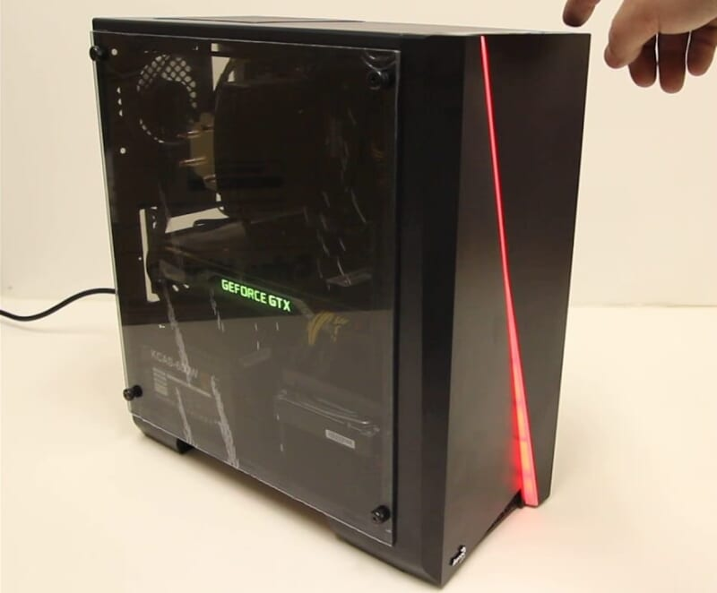 Case Vỏ máy tính AeroCool Cylon Mini RGB bên hông mica trong suốt Tin học Đại Việt 1 e1573040011496