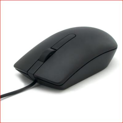 Chuột máy tính dell ms116 black - Tin học Đại Việt