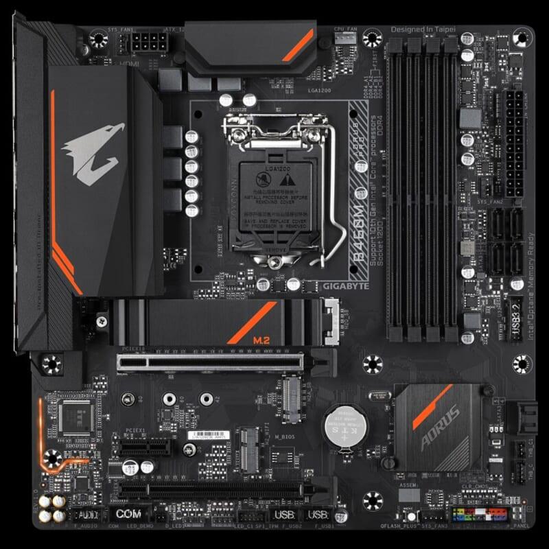 Mainboard Gigabyte B460M Aorus Pro socket LGA 1200 cho Intel Gen 10 Comet Lake 4