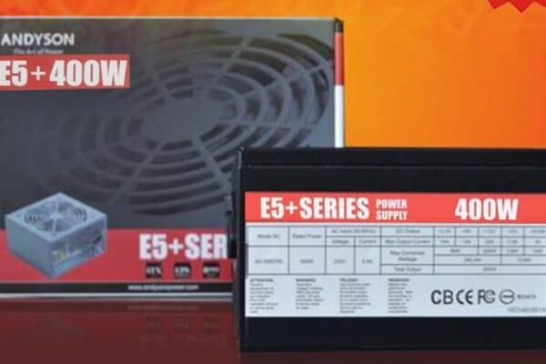 Nguồn máy tính PSU Andyson E5+ 400W tin hoc dai viet 1