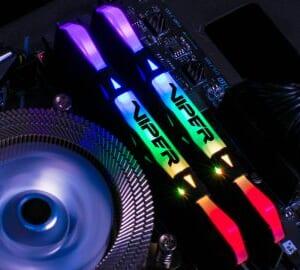 RAM Patriot Viper RGB 8GB DDR4 - BUS 2666 có tản nhiệt Elite tin hoc dai viet_1