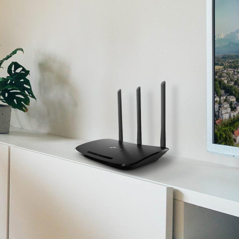 Router phát wifi TP-Link TL-WR940N chuẩn N 450 Mbps 3 ăng ten THDV 1