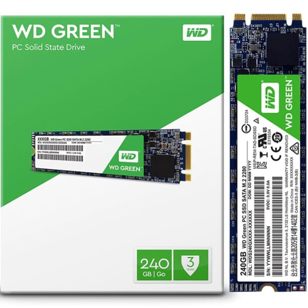 SSD Western Digital Green 240GB M2