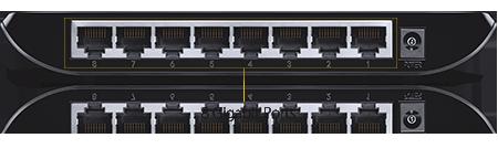 Switch TPlink Gigabit TL-SG1008D - Bộ chia tín hiệu 8 cổng tin hoc dai viet