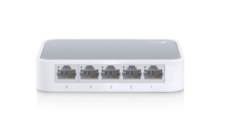 Switch TPlink TL SF1005D Bộ chia tín hiệu để bàn 5 cổng TIN HOC DAI VIET 1