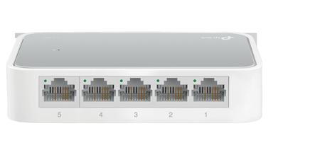 Switch TPlink TL-SF1005D Bộ chia tín hiệu để bàn 5 cổng tin hoc dai viet