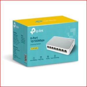 Switch TPlink TL-SF1008D - Bộ chia tín hiệu để bàn 8 cổng tin hoc dai viet