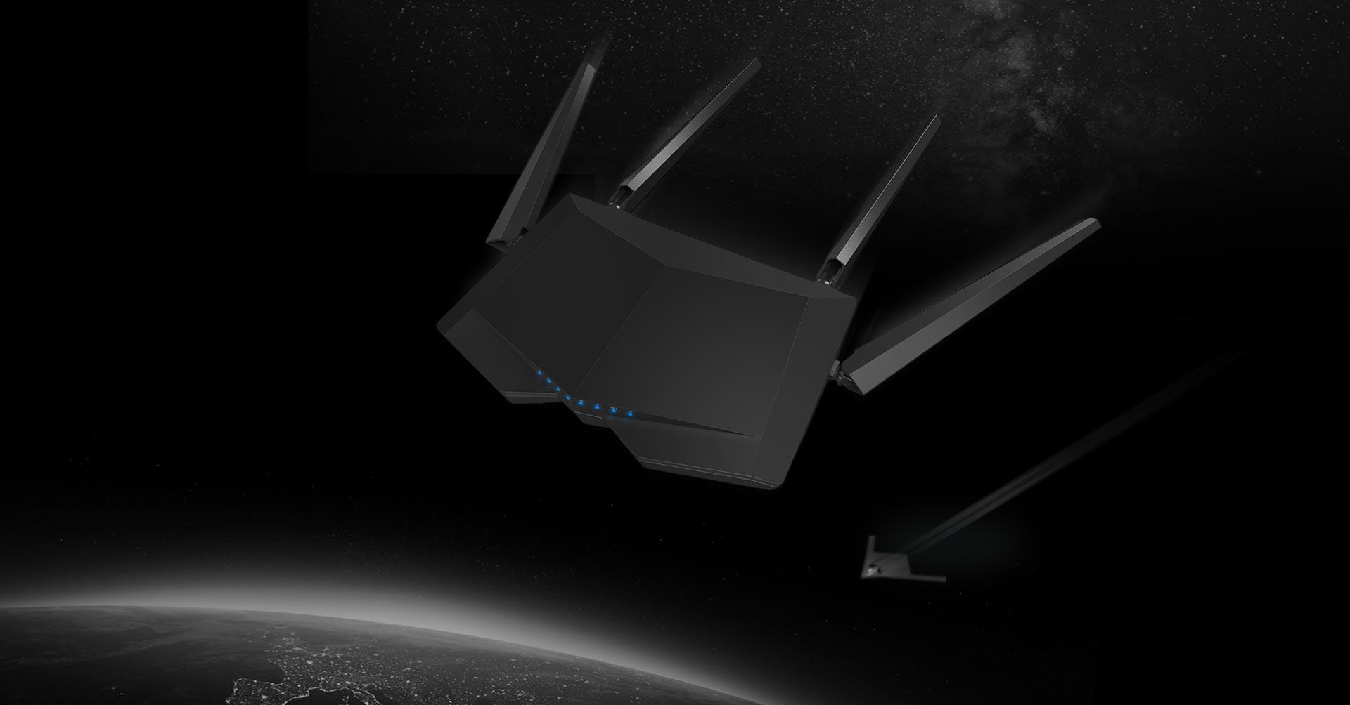 Tenda AC6-1200 Bộ định tuyến (Router) Wifi 2 băng tầng tốc độ 1200Mbps tin hoc dai viet
