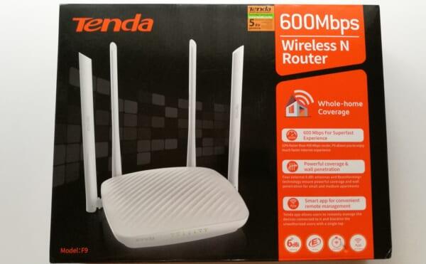 Tenda F9-600 Bộ định tuyến (Router) Wifi chuẩn N 600 Mbps tin hoc dai viet_1